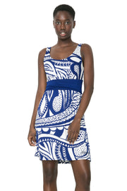 Desigual Hourglass Printed Margarita Dress