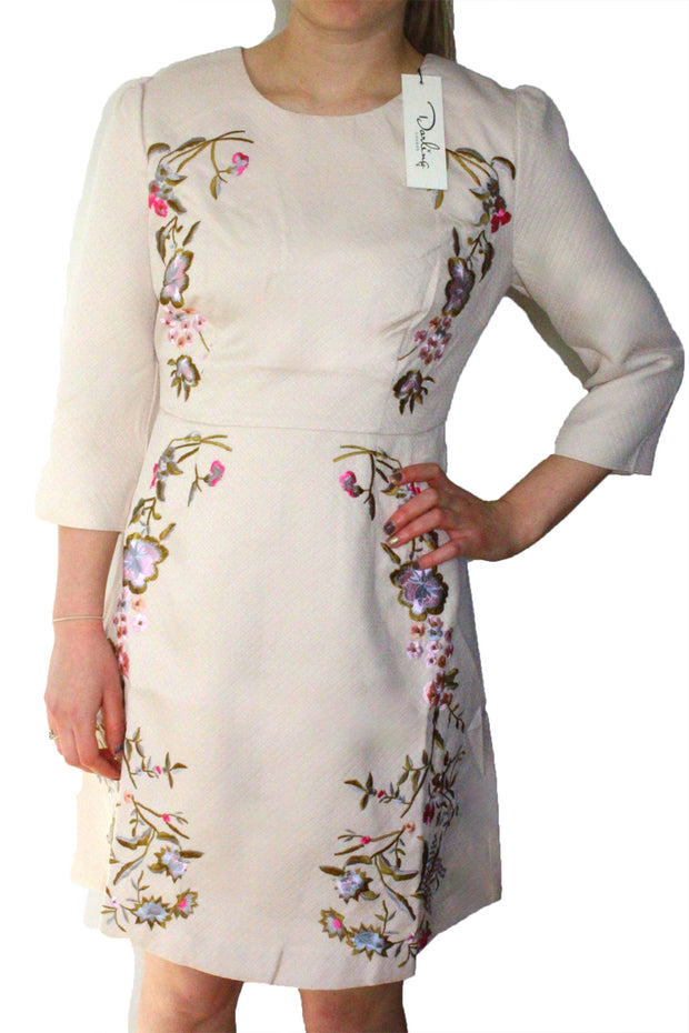 Darling Women's Hayden Floral Embroidery Dress