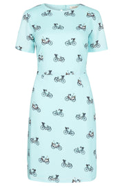 Sugarhill Boutique Women's Green Nadine Bike Ride Dress
