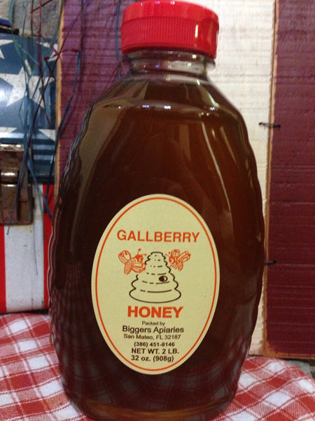 Gallberry Raw Honey (2lb) (32oz)