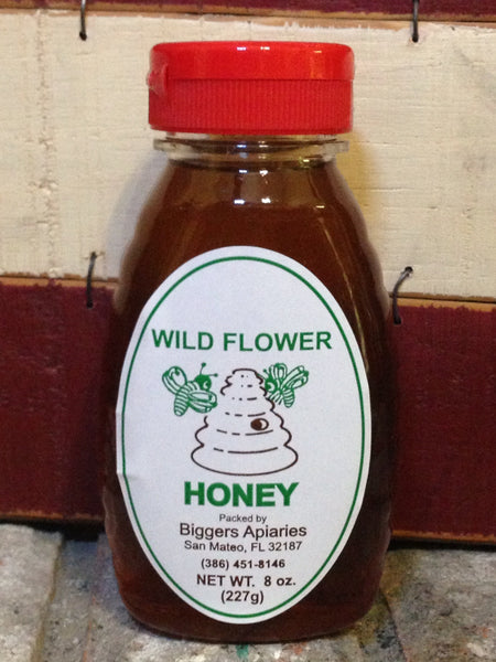 Wildflower Raw Honey (1lb) (16oz)