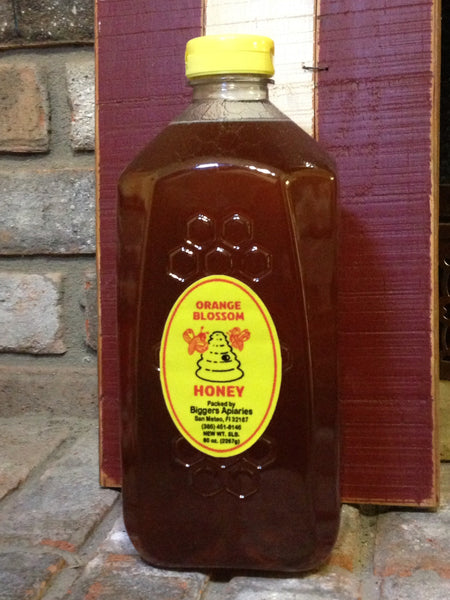 Orange Blossom Raw Honey (5lb)