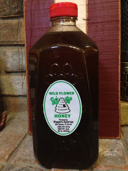 Wildflower Raw Honey (5lb)