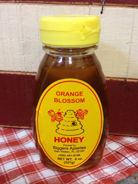 Orange Blossom Raw Honey (8oz)