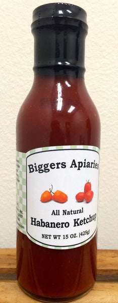 Biggers All Natural Habanero Ketchup