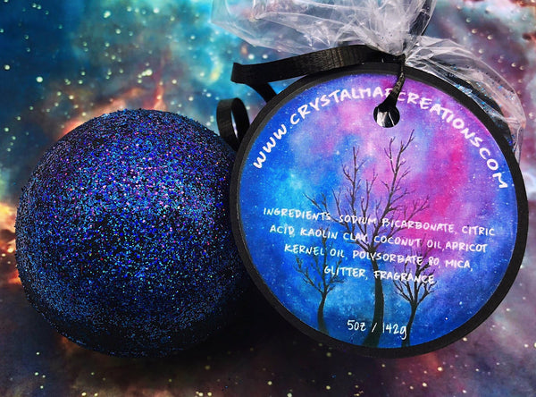 Black Galaxy Bath Bomb