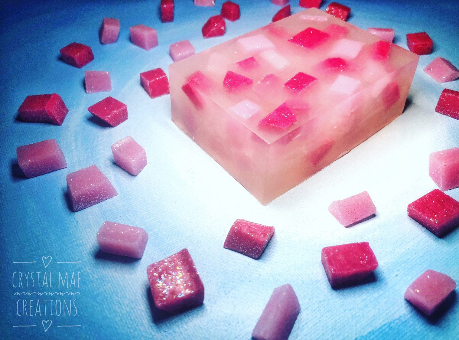 Pink Lemonade Soap - fresh raspberry and sweet lemonade