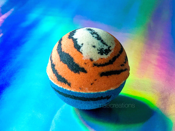 TIGER KING Bath Bomb - Orange Creamsicle