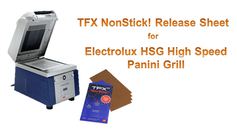 TFX NonStick! PTFE Release Sheet for Electrolux HSG High Speed Panini Grill (24-pack)