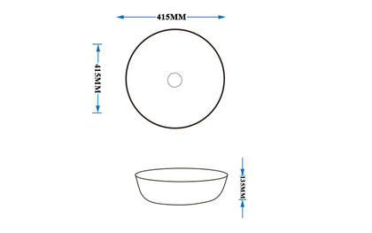 On Counter Basin Product FBB-5048