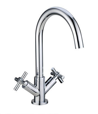 Cross Handle Kitchen Mixer