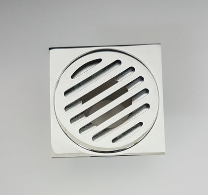 SQUARE SLOTTED FLOOR GRATE 80*50MM