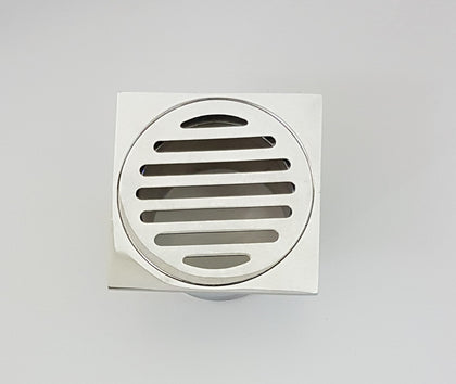 SQUARE SLOTTED FLOOR GRATE 80*65MM