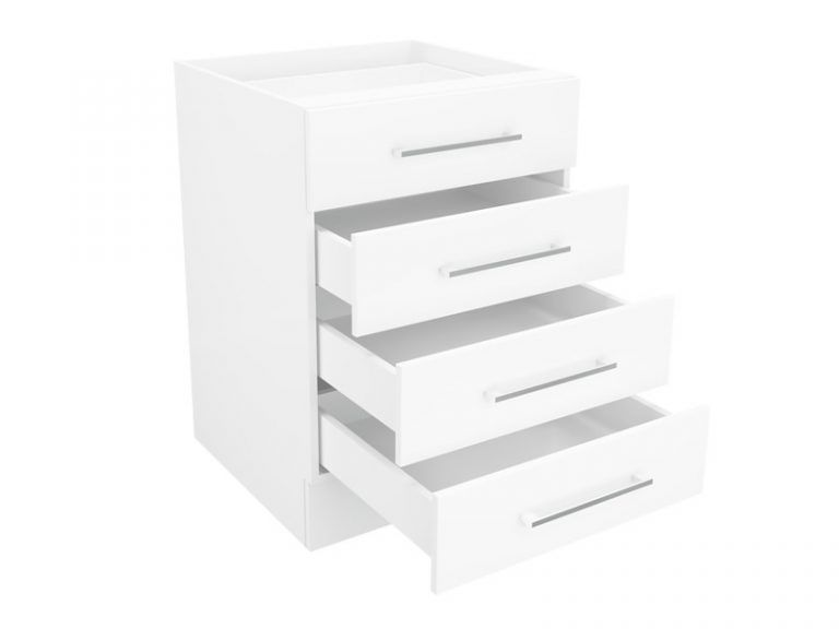 Base Cupboard Four (4) Drawer 60cm