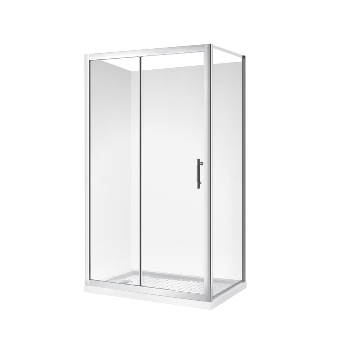 SHOWER ENCLOSURE FRONT SLIDER 129/1