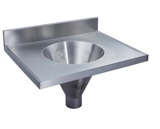 Flushing Rim Sink with Cistern