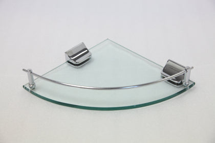 CORNER GLASS SHELVE 230 MM