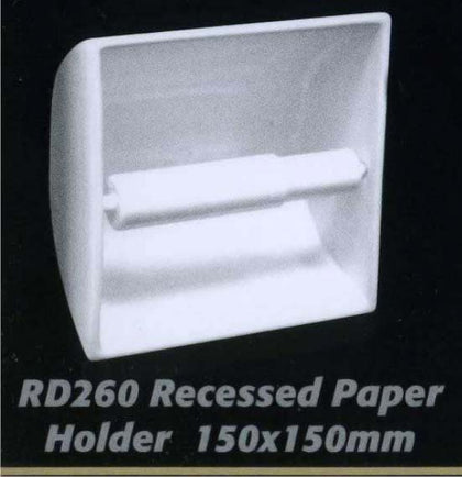 Recessed Paper Holder RD 260