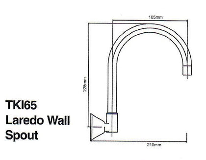 LERADO WALL SPOUT