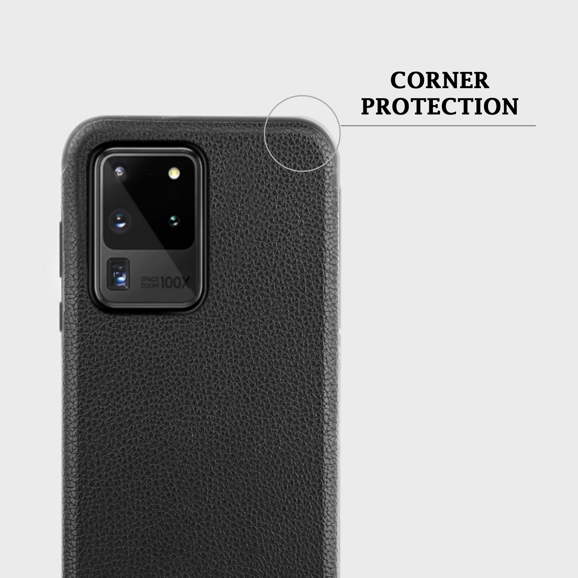 Leather Case for Samsung Galaxy S20 Ultra