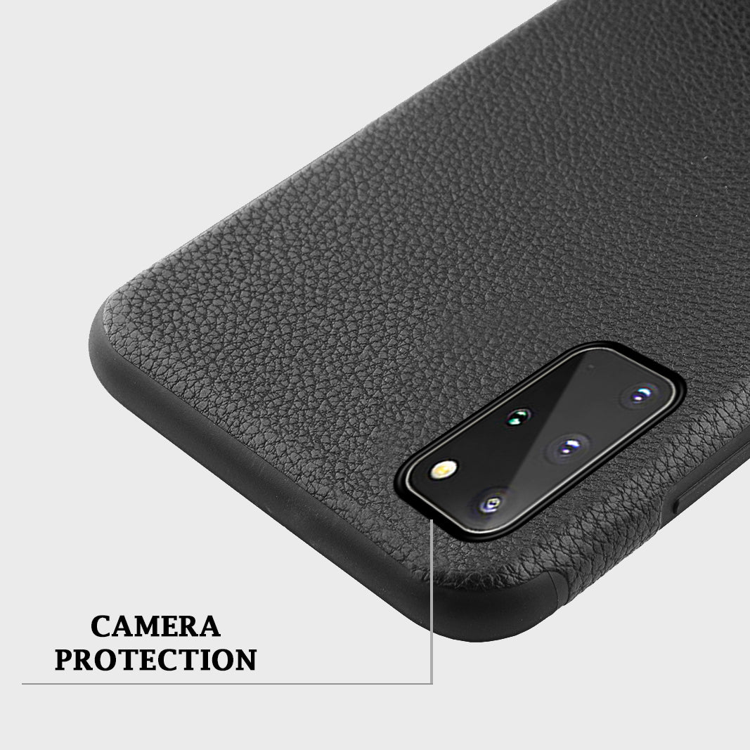 Luxury Flip Leather Wallet Magnet Case for Samsung Galaxy S20 + Plus [6.7 inches] Magnetic Back 360-degree Protective Cover