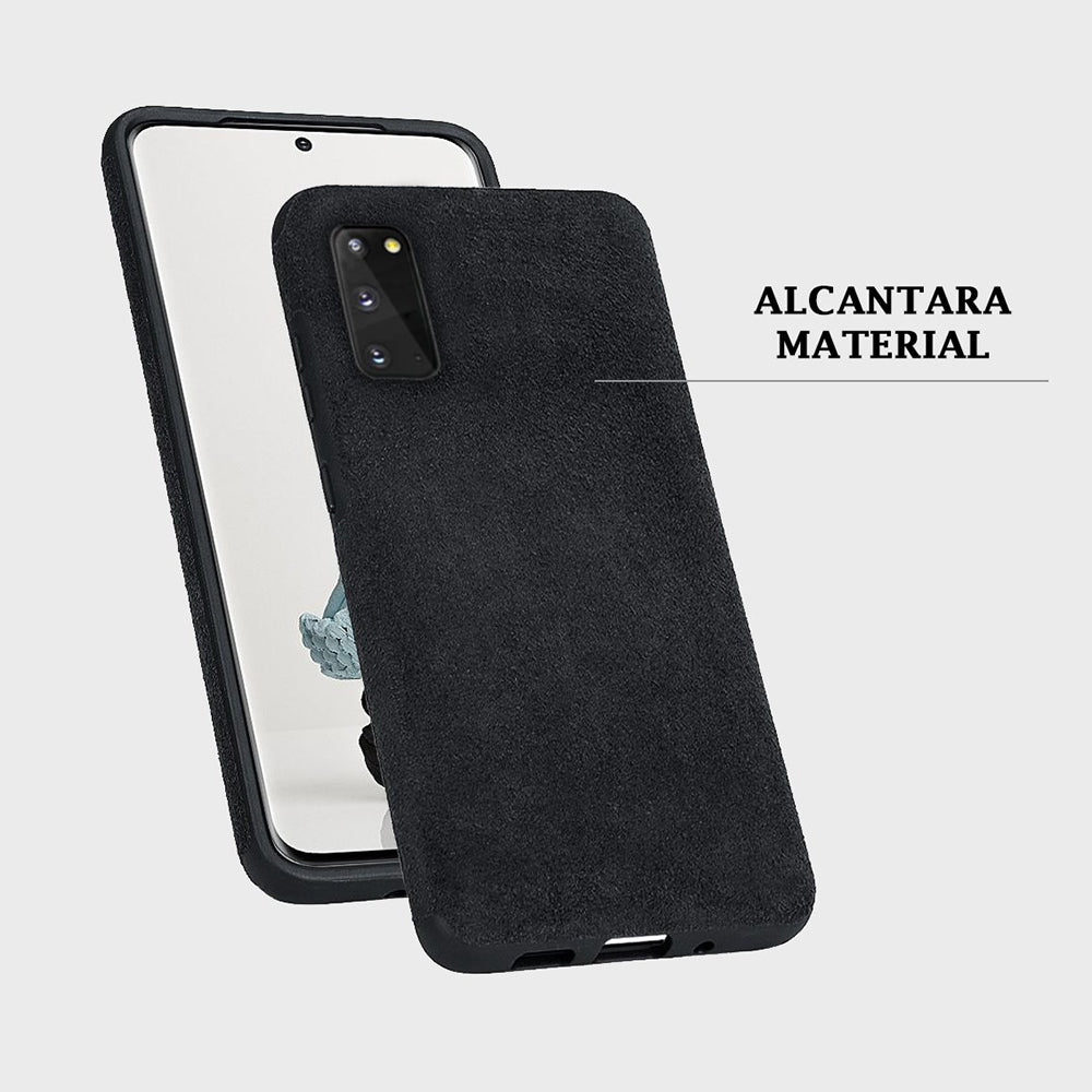 Alcantara Case for Samsung Galaxy S20