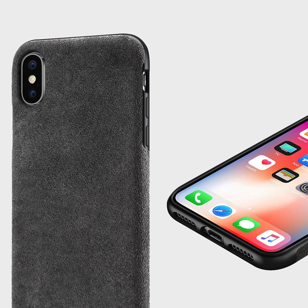 Alcantara case for iPhone Xs Max