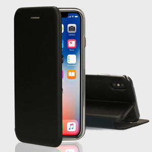 Flip Leather Wallet Case for iPhone Xr