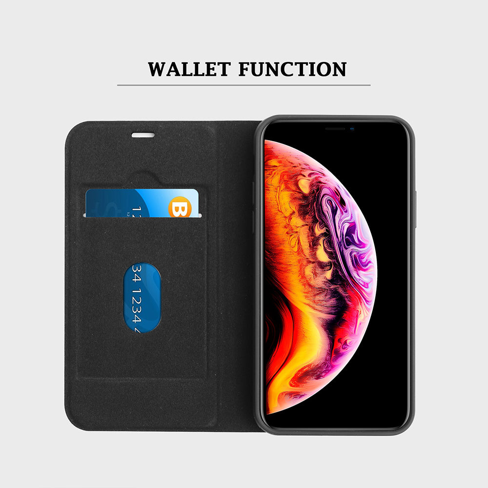 Leather Wallet Magnetic Case for iPhone 11 Pro