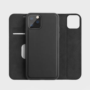 Leather Wallet Magnetic Case for iPhone 11