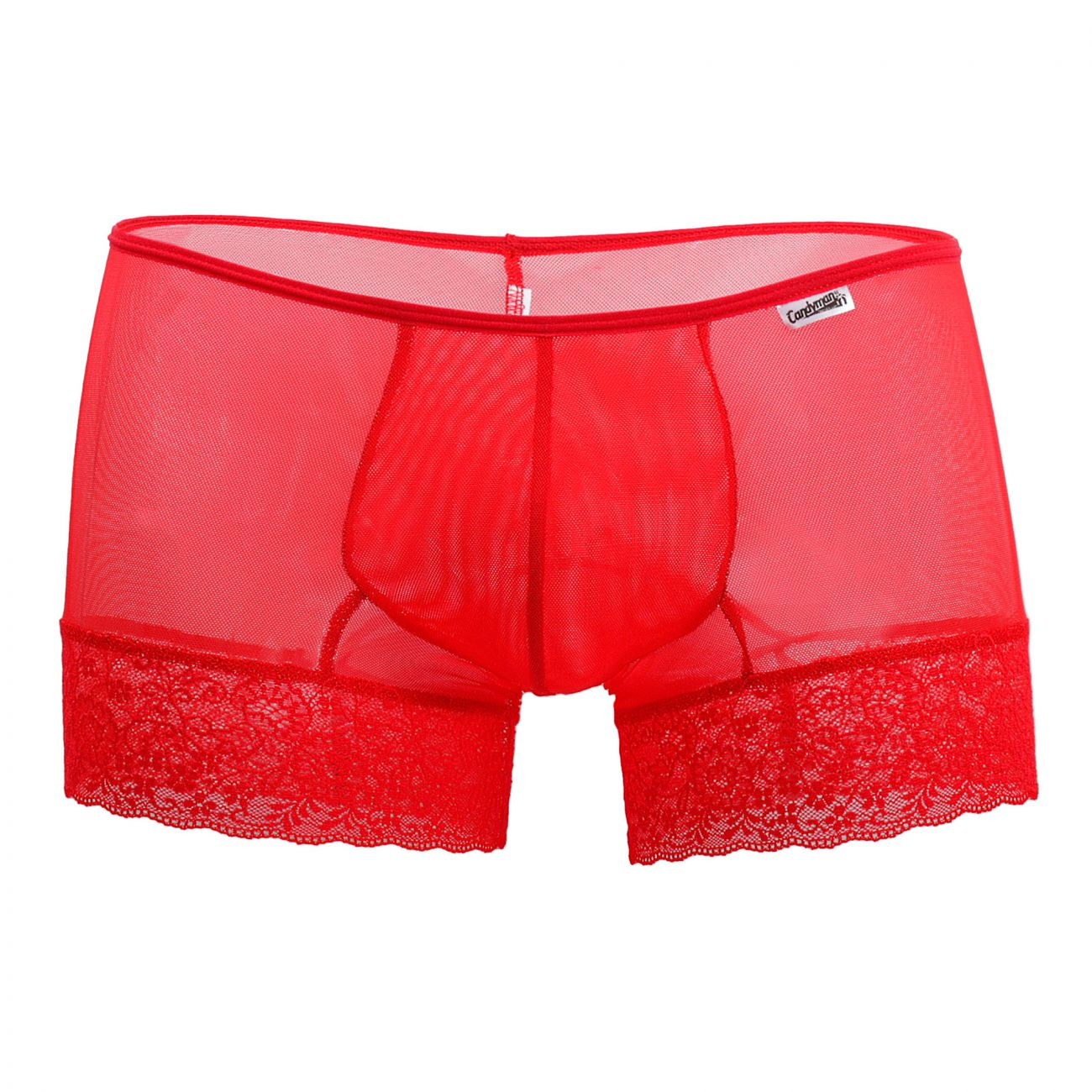 CandyMan 99407 Lace Trunks Color Red