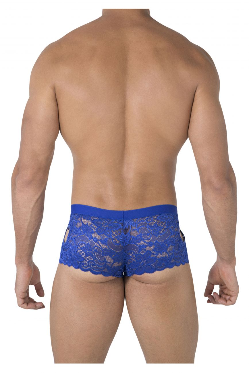 CandyMan 99491 Heart Lace Trunks Color Royal Blue