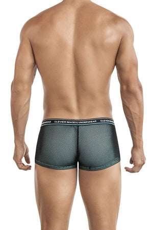 Clever 2433 Top Latin Trunks Color Green