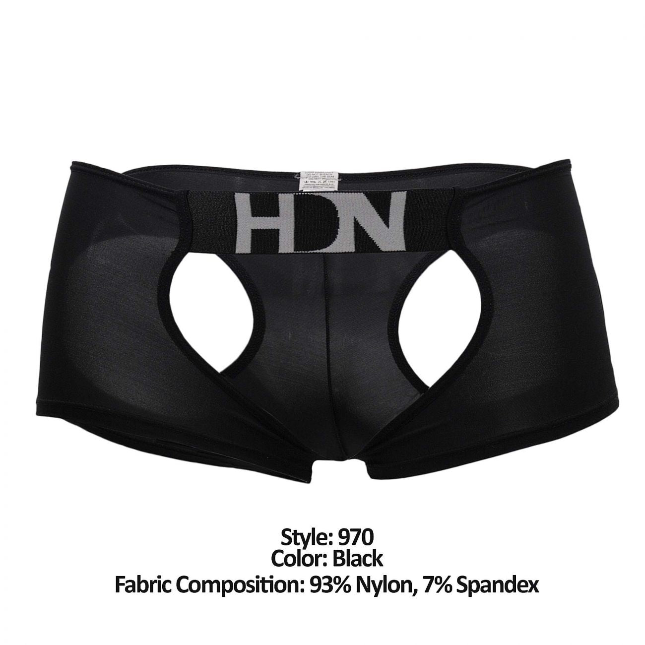 Hidden 970 Open Trunks Color Black