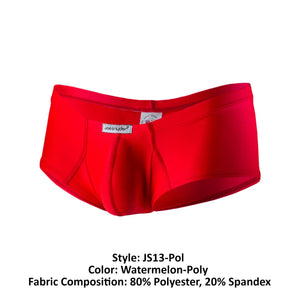 Joe Snyder JS13-Pol Polyester Cheek Boxer Color Watermelon-Poly