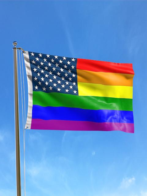New Glory Rainbow Flag