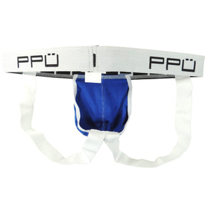 PPU 1308 Jockstrap Color Blue-White