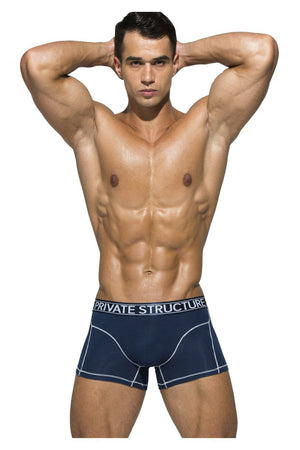 Private Structure PBUZ3749 Platinum Bamboo Trunks Color Midnight Navy