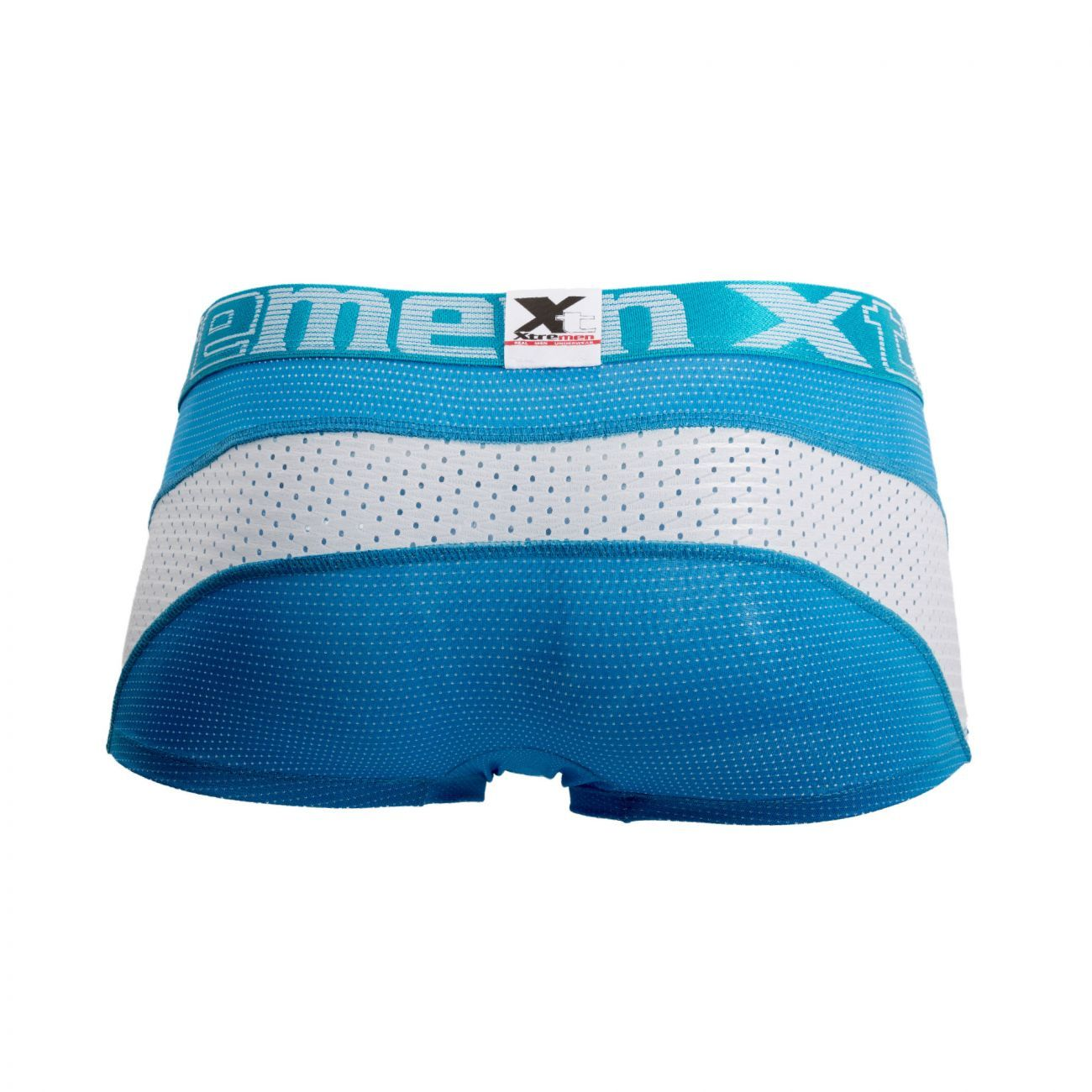 Xtremen 91030 Sports Mesh Boxer Briefs Color Turquoise