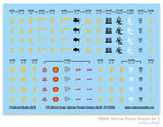 130006 - German Panzer Division Set 2 Decal Sheet
