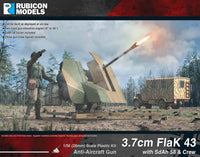 3.7cm Flak43 with SdAh 58 Trailer & Crew - Buy 2 Get 1 Free!
