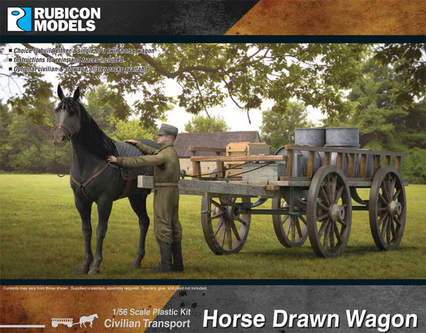 280090 - Horse Drawn Wagon