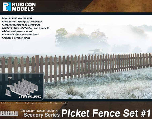 283002 - Picket Fence Set #1