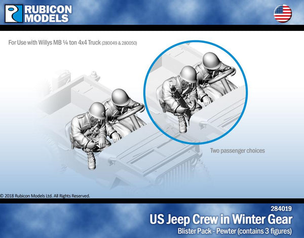 284019 - US Jeep Crew in Winter Gear - Pewter