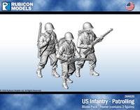 284020 - US Infantry - Patrolling - Pewter