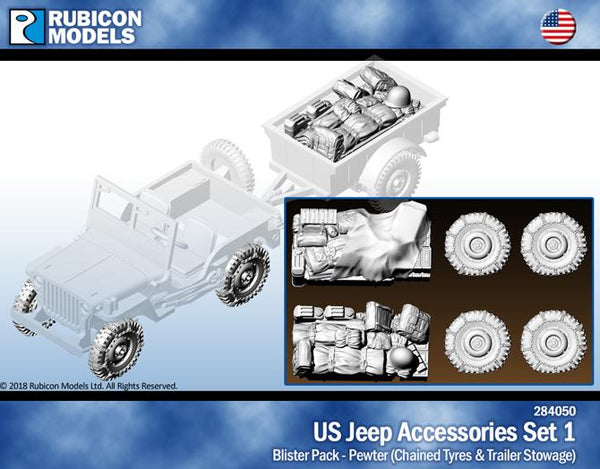 284050 - US Jeep Accessories Set 1 - Pewter