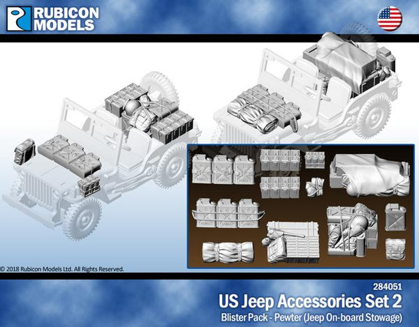 284051 - US Jeep Accessories Set 2 - Pewter