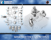284085 - German Panzer Crew in Early War Uniform- Petwer