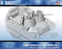 284099 - -USMC Infantry - LVT with HMG Set 1 German Medical Personnel Set 1