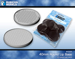 810005 - 40mm Round Bases - 1 Pack of 10 Bases